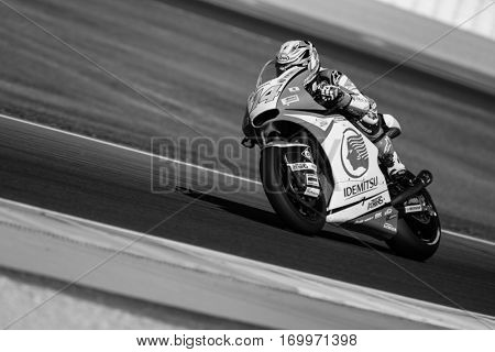VALENCIA, SPAIN - NOV 11: Wilairot during Motogp Grand Prix of the Comunidad Valencia on November 11, 2016 in Valencia, Spain.