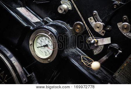 Old Offset Machine