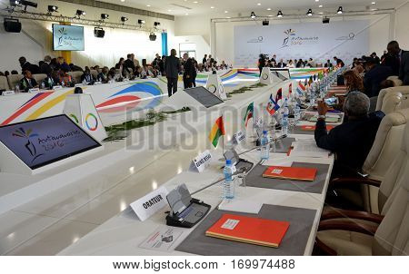 Antananarivo, Madagascar. November 23Rd 2016: Summit Of The Francophonie Held In Antananarivo, Madag