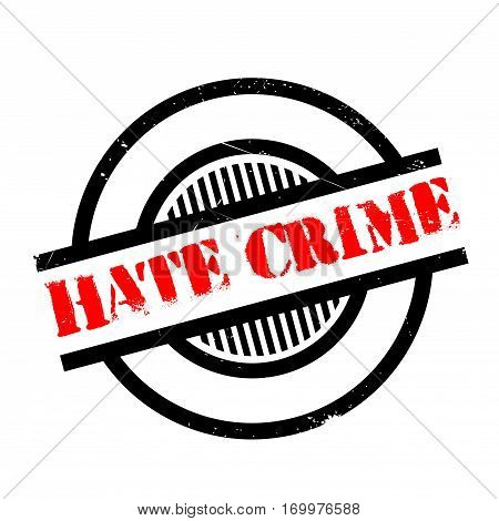 Hate Crime rubber stamp. Grunge design with dust scratches. Effects can be easily removed for a clean, crisp look. Color is easily changed.