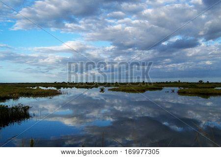 Merritt Island National Wildlife Refuge in Brevard County, Florida
