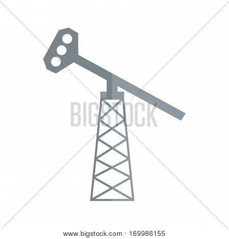 oil pump petroleum icon vector illustration eps 10
