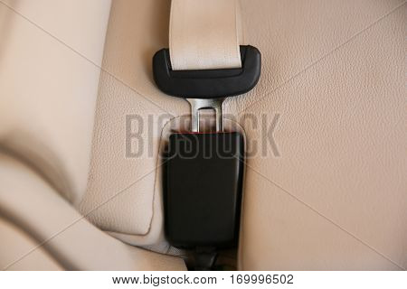 Safety buckle in car