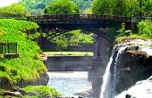 The second highest waterfalls in the northeast America in Paterson NewJersey. poster