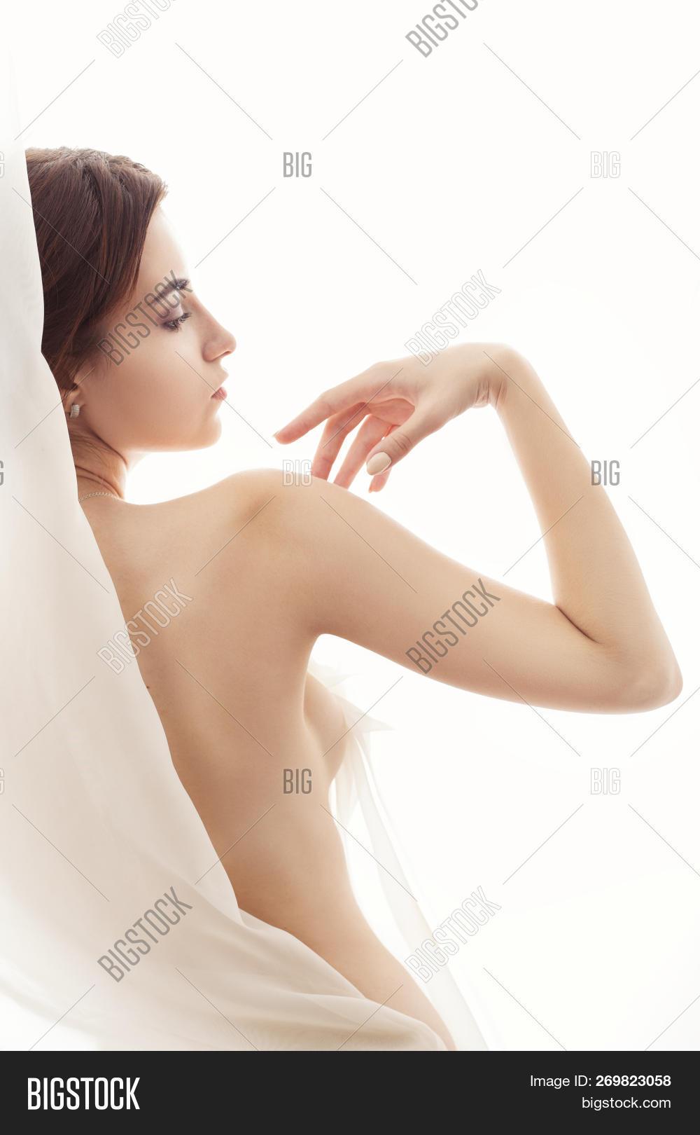 Naked sensual woman