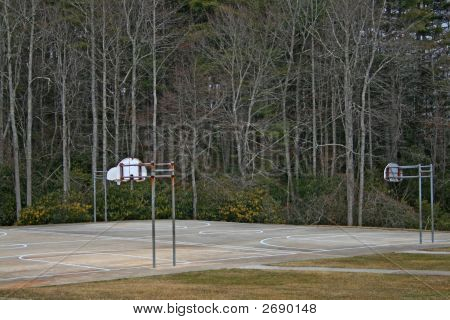 Basketbal Court