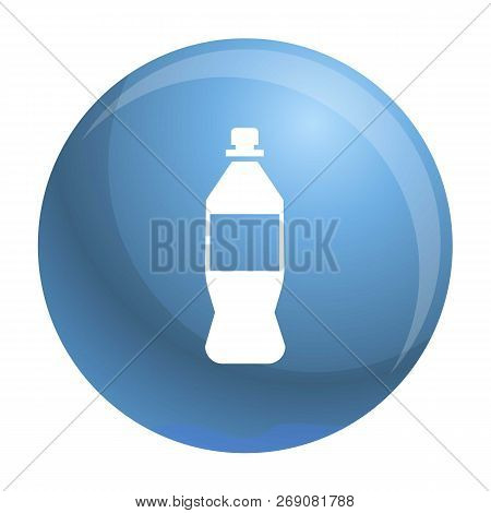 Plastic Bottle Icon. Simple Illustration Of Plastic Bottle Vector Icon For Web Design Isolated On Wh