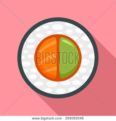 Sake Wasabi Sushi Icon. Flat Illustration Of Sake Wasabi Sushi Vector Icon For Web Design