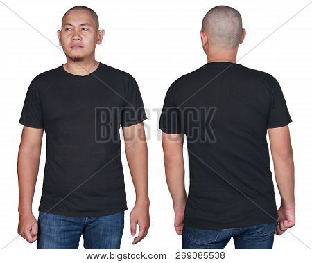 Blacktee Shirt Design Template For Men