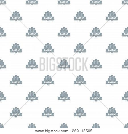 Kingdom Bastion Pattern Vector Seamless Repeat For Any Web Design