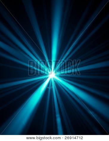 blue disco lights background