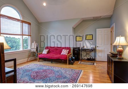 Elegant attic bonus room or guest room.