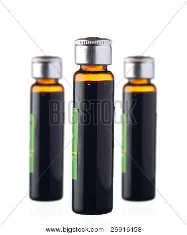 vials isolated