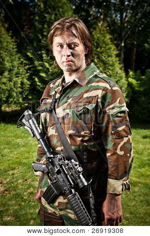 light infantry soldier