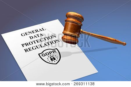 Gdpr General Data Protection Regulation Compliance Concept