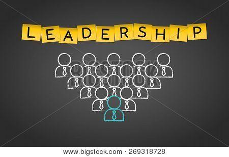 Leadership Business Management Teamwork Group Concept Background