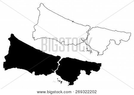 Istanbul (provinces Vector & Photo (Free Trial) | Bigstock