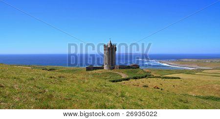 Doonegore castle in Doolin - Ireland