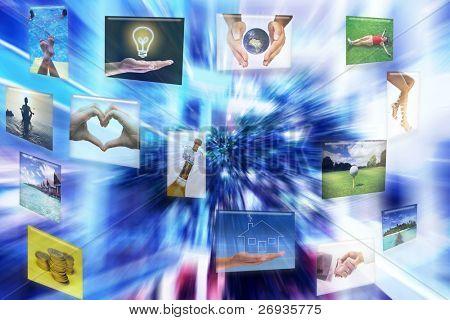 virtuelle Schnittstelle mit Bilder Fotos aus meiner Galerie