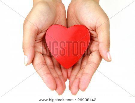 Herz in die Hände