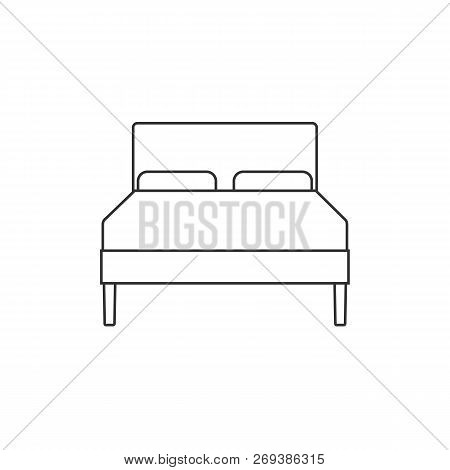 Double Bed Icon Vector Photo Free Trial Bigstock