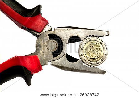 Irish euro under pressure