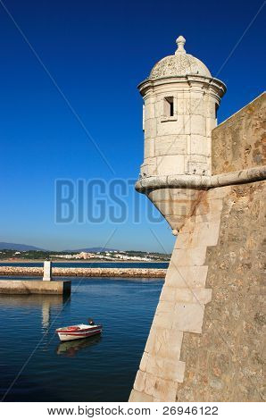 Portugal Algarve Lagos Bandeira Fort