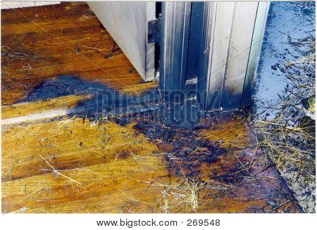 Burn Pattern On Floor