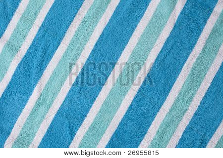Cool Beach Towel Background