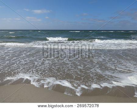 Photo Of Sandy Sea Coast