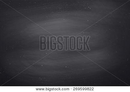 Chalkboard, Texture. Black Empty Chalkboard Background, Surface