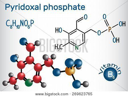 Pyridoxal Phosphate (plp, Pyridoxal 5'-phosphate, P5P), Vitamin B6, Is A Coenzyme. Structural Chemic