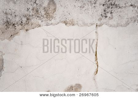 Cement wall texture poster