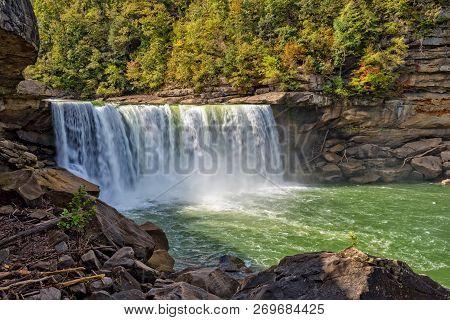 Cumberland Falls In Cumberland Falls State Park Corbin Kentucky