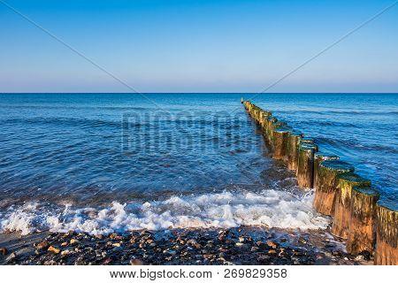 Baltic Sea Coast In Graal Mueritz, Germany.