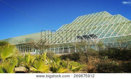 Tucson, Arizona - March 20th: Biosphere 2 Research Center In Tucson, Arizona On March 20th, 2014.