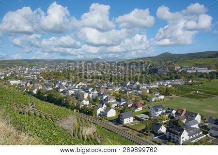 Wine Town Of Bad Neuenahr-ahrweiler In Ahrtal,rhineland-palatinate,germany