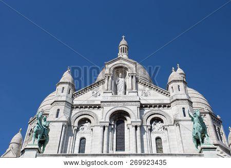 Sacre Coeur Basilique In Montmartre Paris, France