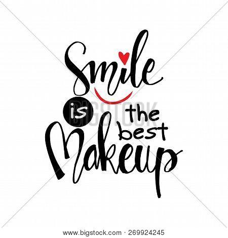 Smile Best Makeup Vector Photo Free Trial Bigstock
