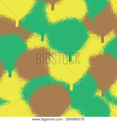 Vector Seamless Patterns. Trendy Endless Unique Wallpaper