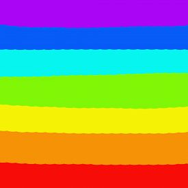 Symbol Of Peace.rainbow Background. Raster Illustration. Lgbt Flag