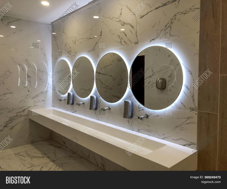 Round Mirrors On Image Photo Free Trial Bigstock