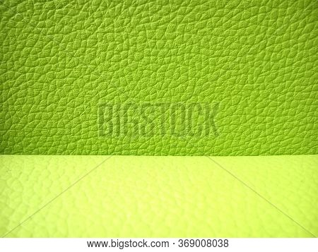 Image Background Of Retro Green Faux Leather Button Tufted Sofa