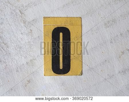 Number Zero Digit Meaning Nought Or Naught