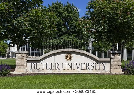 Indianapolis - Circa May 2020: Butler University Campus. Butler University Is A Private Liberal Arts