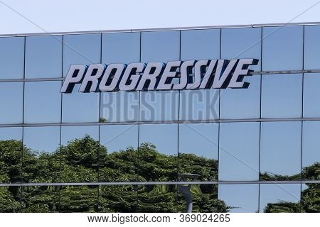 Indianapolis - Circa May 2020: Progressive Insurance Claims Office. Progressive Insures Motorcycles,