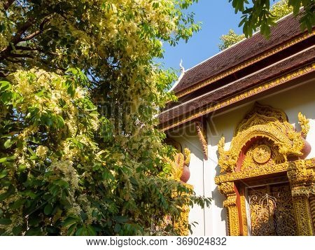 Prasat Temple, Chiang Mai According To Evidence, The Inscription Of Wat Tapotharam Inscribed That Wa