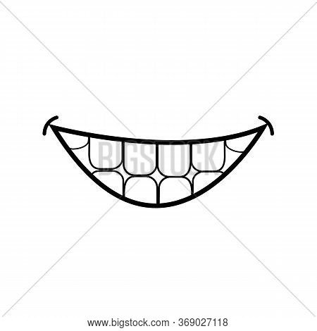 World Smile Day Icon On White Background. Flat Style. Happy World Smile Day Icon For Your Web Site D