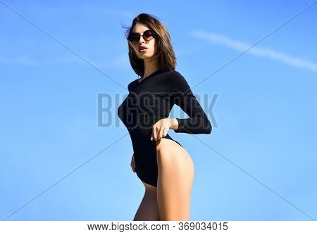 Female Fashion. Elegant Chic Female Model. Beautiful Charming Young Attractive Woman. Portrait Sensu