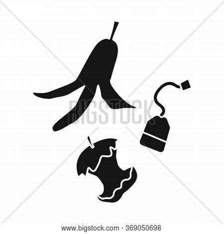 Vector Illustration Of Trash And Recycle Symbol. Web Element Of Trash And Rubbish Stock Vector Illus